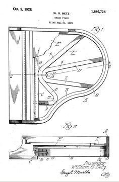 47 best patent drawings images on pinterest patent drawing piano patent design piano patent patentdrawing drawing invention malvernweather Images