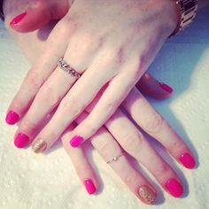 Mani-fique gel polish manicure  #nails