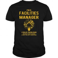 Men's T-Shirts, T shirts for Men  Facilities Manager #tshirt