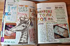 From her 2012 No More Excuses Journal by Jessica Herman Goodson aka Jessie Starling