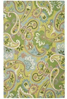 Company C Green With Envy 19407 Willow Area Rug