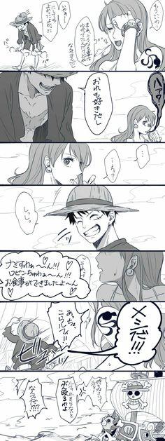 Nami One Piece, One Piece Comic, One Piece Fanart, One Piece Anime, Konosuba Wallpaper, Luffy X Nami, The Masterpiece, Nalu, Fan Art