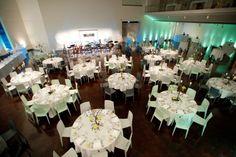 Ponti Hall Wedding At The Denver Art Museum Formal Dinner Catering