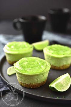 Cheesecake avocat et citron vert
