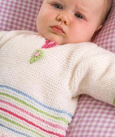 Suéter y pantalones de bebé patrón