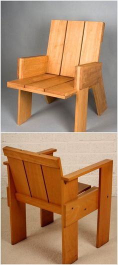 A stylish chair can easily add beauty to your home, so make a chair different in style and see how awesome your home would look. Here are trendy and the best pallet made wooden furniture for a beautiful home.