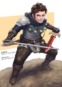 m Halfling Fighter 2 weapons