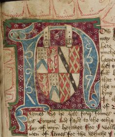 Oxford, Bodleian Library MS Digby 185 Manuscript from Yorkshire
