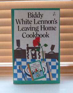 Items similar to / Leaving Home cookbook Biddy White Lennon / Irish interest on Etsy Leaving Home, 1980s, Irish, Reading, Handmade Gifts, Books, Etsy, Vintage, Home Decor