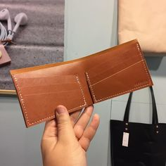 Our Classic Billfolds make a great gift. #ooakdiaries #ooakx16 #boothD3