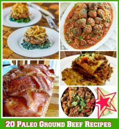 paleo ground beef recipes; plus paleo desserts, lunch and slow cooker recipes