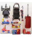 Garage Stroller and Toy Kit Propped
