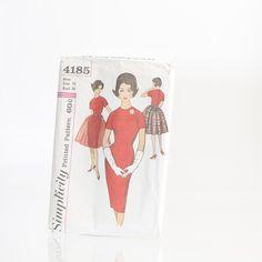 Vintage Simplicity Sewing Pattern #4185
