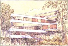 Casa sobre o penhasco / Luigi Roselli