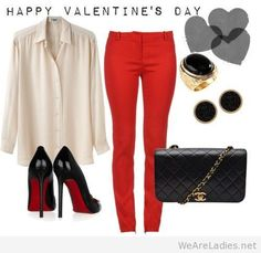30 Cute Outfit ideas for Valentines Day 2015 - London Beep  #valentine #outfitideas #2015