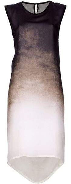 Ombre by Ann Demeulemeester.  Pair this with your favorite red heels and you're festive and sochic.
