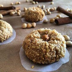 Efsanevi kurabiye-çay ikilisinin en iyi formunu yakalamak için fındıklı kurabiyeyi deneyebilirsiniz😉 ________________ Hamuru için 125 gr…