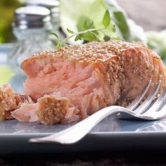I'm checking out a delicious recipe for Grilled Glazed Salmon from Kroger!
