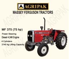 Farm tractors farm implements tractors accessories material handling following are few of the specifications of mf 375 1diesel 4248 efficient fandeluxe Gallery