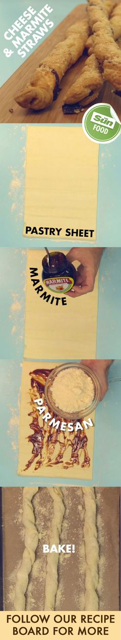 Give cheese straws a twist with this Marmite recipe