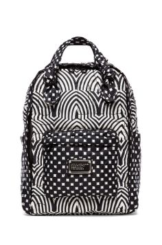Marc by Marc Jacobs Pretty Nylon Knapsack in Black Multi