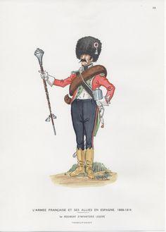French; 1st Light Infantry, Drum-Major in Spain 1808-14