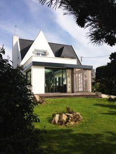 Album - House I - Extension veranda and renovation of a neo breto house .