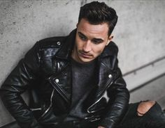 Dark colors are always a good way to dress up //  Find similar pins at @damee1 [https://www.pinterest.com/damee1/] // #leatheroutfit #leatherjacket #stylish  #menfashion #menstyle #guysinstyle #guyswithstyle #leather  #stylish menswear #menstyle #menfashion #casual #smart #classy #dapper #outfit #beTrendly #Fashion #Menswear #Leather #Biker #Hipster #Streetwear #Hype #Menswear #Outfit #Style #Luxury