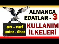 ALMMANCA EDATLAR 3 : an - auf - über - unter Edatları Kullanımı İlkeleri Youtube, Movie Posters, Movies, Learn German, Films, Film Poster, Cinema, Movie, Film