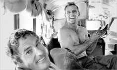 Neal Cassady  with Timothy Leary in 1964.