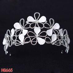 #rhinestonescrown #crystalcrown #flowercrown #weddingcrown #bridalcrown #promtiara #pageantcrown #princesstiara