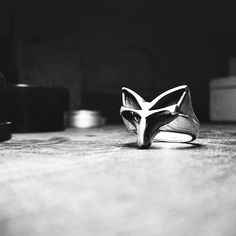 The Totem Fox ring Fox Ring, Cape Town, Silver Rings, Handmade, Jewelry, Instagram, Fashion, Moda, Hand Made