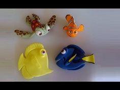 Nemo e Amici in pasta di zucchero,TUTORIAL SEMPLICE e VELOCE