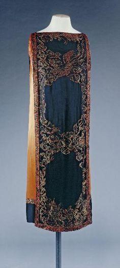 1920's flapper fashion: Dress Callot Soeurs, 1922-1925 Musée Galliera de la Mode de la...