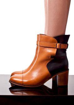 WOLVERINE X SAMANTHA PLEET  Bonny Boot in Tan & Black