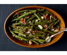 Eleven Delicious Vegetable Dishes  (via Braised Greek Green Beans )