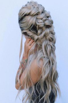 Boho Queen It,s Awesome Hairstyles Ideas 2019 Latest Braided Hairstyles, Easy Hairstyles For Long Hair, Box Braids Hairstyles, Winter Hairstyles, Trending Hairstyles, Straight Hairstyles, Cool Hairstyles, Gorgeous Hairstyles, Hairstyle Ideas