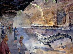 WCS Bronx Zoo - Madagascar Crocodile Exhibit Concept