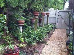 Pots on posts . . .