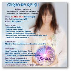 Gaia - Mãe Terra: Curso de Reiki I com Andrea Leandro
