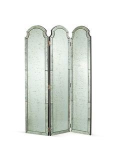 Isabella Mirrored Room Screen by Arteriors Home on Gilt Home; need a full length mirror #PinIntoSummer