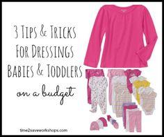 3 Tips and Tricks for Dressing Babies & Toddlers on a Budget @Garanimals #Sponsored - Time 2 Save Workshops