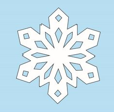Learn How to Make Paper Snowflakes with this step-by-step tutorial. Paper snowflakes make phenomenal DIY Christmas decorations and can be kept up all winter. This snowflake template is also easy enough for kids even though adults will love it too.