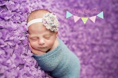 Baby Headband Headband  Flower Headbands  Baby by PoshLittleTots, $4.50