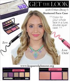 Urban Decay Shattered Face Case Review #reviews #beautyproducts - bellashoot.com  #makeup #urbandecay #palette