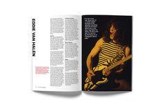 ROCK MAGAZINE – VAN HALEN Editorial design for the October 2017 edition of Rock Magazine, a monthly publication sponsored by Rock Radio. Rock Radio, Global Design, Van Halen, My Rock, Editorial Design, October, Magazine, Magazines, Warehouse