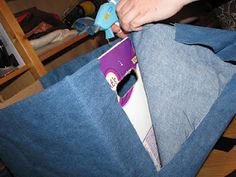 cover diaper box with fabric to dress up organization