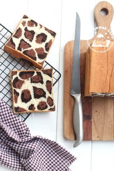 Nasi Lemak Lover: Leopard Patches Bread Loaf 豹纹土司