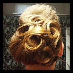 My church hairdo-dieanna apostolic hairdo