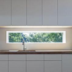 moderne fenster & tür bilder: festverglasung /lichtband - Lichtband Küche